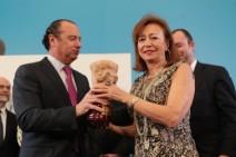 La periodista Pepa Roma, premio Azorín con su novela Indian Express